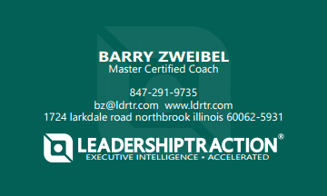 Barry Zweibel, MCC – Master Certified Coach